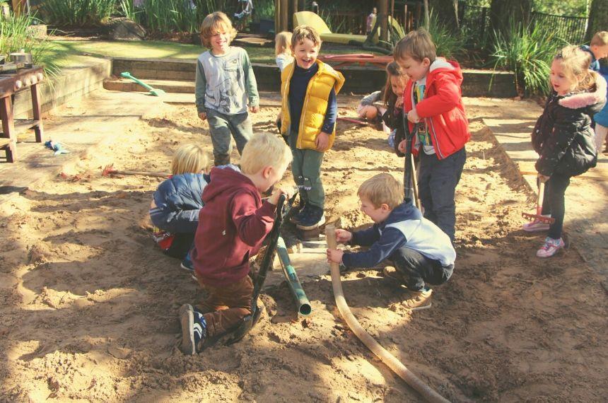 Mosman preschool Sandpit